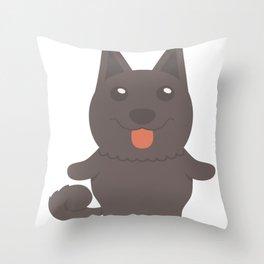 Schipperke Gift Idea Throw Pillow
