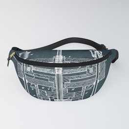 Reciprocating engine Fanny Pack