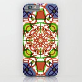 Floral Mandala Doodle #procreate #society6 #buyart iPhone Case