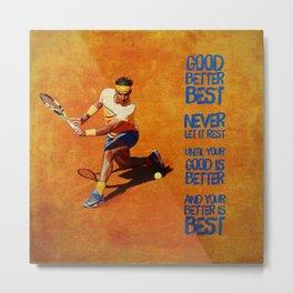 Rafael Nadal Best Metal Print