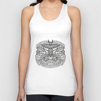 ornate Tank Tops featuring Ornate by RifKhas