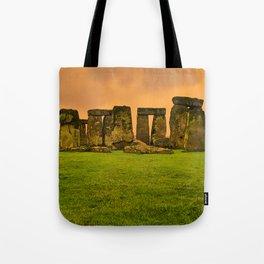 The Standing Stones - Stonehenge Tote Bag