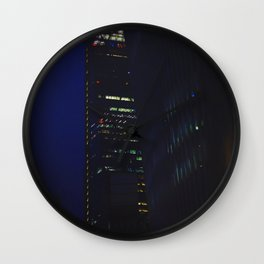 Night scape London Style Wall Clock