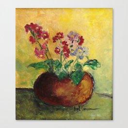 Vasinho de flores (Flower pot) Canvas Print
