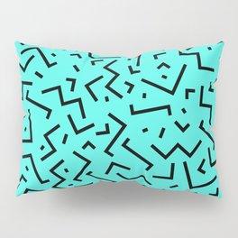 Memphis pattern 32 Pillow Sham
