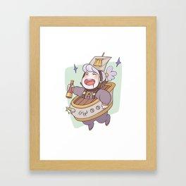 Boat Opal Framed Art Print