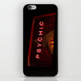 A Distinctive Shade of Red (7th & Bleecker) iPhone Skin