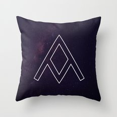 Galaxy A Throw Pillow