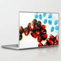 pomegranate Laptop & iPad Skins featuring Pomegranate by Yilan