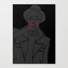 life's lush lips Canvas Print
