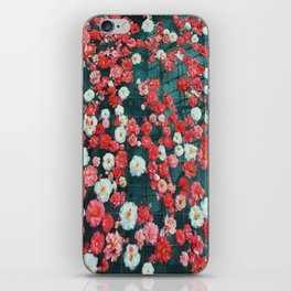 Pool of Flowers iPhone Skin