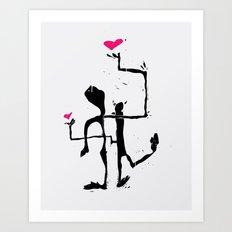 love lam Art Print
