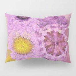 Zirkite Content Flower  ID:16165-022132-66350 Pillow Sham