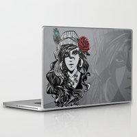 gypsy Laptop & iPad Skins featuring gypsy by Erdogan Ulker