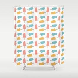 Ice Pop Print Shower Curtain