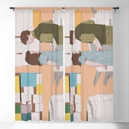 (500) Days of Summer Blackout Curtain