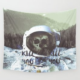 Dead Astronaut Space Wall Tapestry