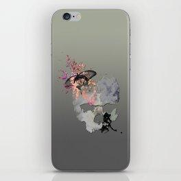 Butterflies in my Skull iPhone Skin