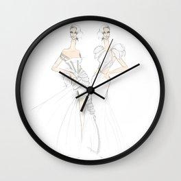 Evening Attire #19 Wall Clock
