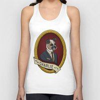 charlie Tank Tops featuring Charlie by Kyle Hurley