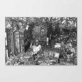 Malaysian Mamak Bread Shop - Kepala Batas, Pulau Pinang / Penang, Malaysia. Canvas Print
