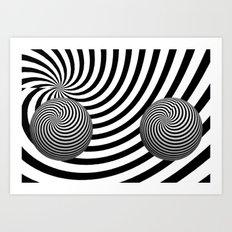 My Eyes Hurt 4 Art Print