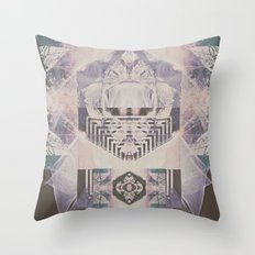 Filament   Throw Pillow