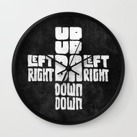code Wall Clocks featuring Gamer's Code by Jango Snow