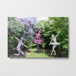 Lilac Dancers Metal Print