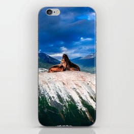Couple of Seals iPhone Skin