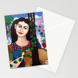 Violeta Parra collage Stationery Cards