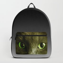 Wake up! Time to feed the Cat! Backpack
