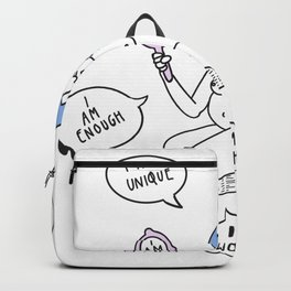 Mirror Affirmations Backpack