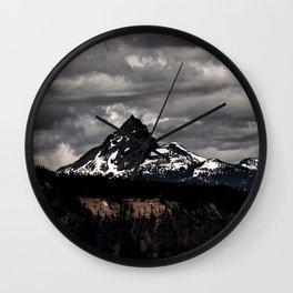 Living Black & White Wall Clock