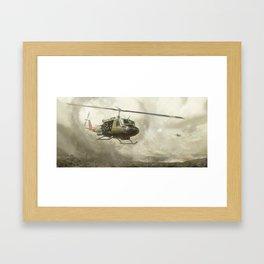 RIDE OF THE VALKYRIES Framed Art Print