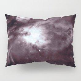 Slate Gray Orion Nebula Pillow Sham