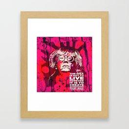 Pop-Art KING - Quote Framed Art Print