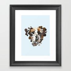 Boxer dog Framed Art Print