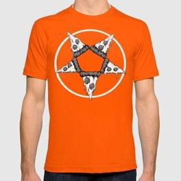 Pizzagram (Monochrome) T-shirt