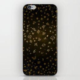 Charter gold iPhone Skin