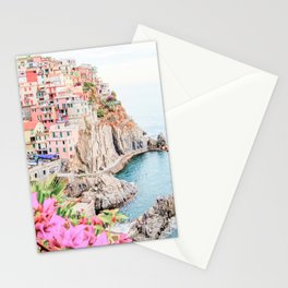 Beautiful Positano, Italy Photography in HD Stationery Cards