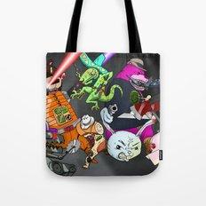 Kill the Robot Duplicates! Tote Bag