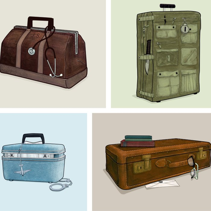 LOST Luggage (Composite). Comforters