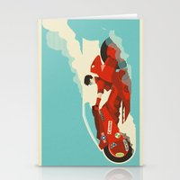 akira Stationery Cards featuring Akira by Danny Haas