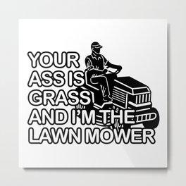The Lawn Mower Metal Print