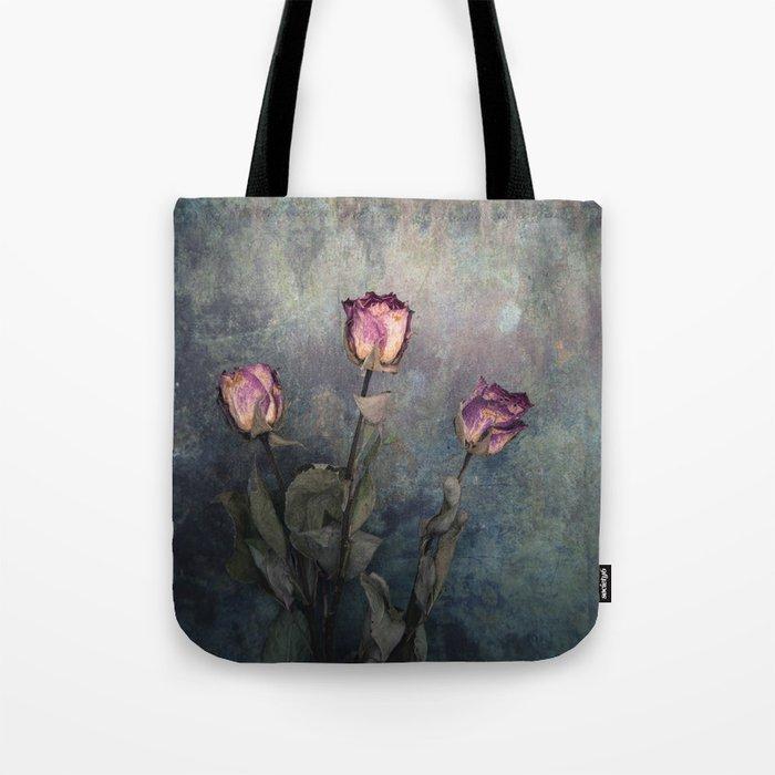 Three Dried Roses III Tote Bag