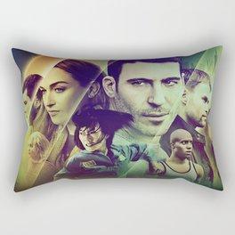 Sense8 Collage Poster Rectangular Pillow