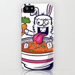 Rabbit Soup iPhone Case