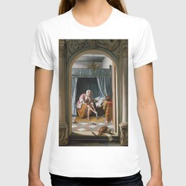 "Jan Steen ""Woman at her Toilet"" T-shirt"