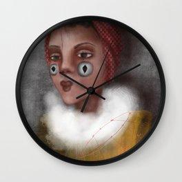 Paulina, the Clown Wall Clock